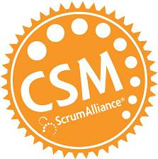 CSM, certified scrum master