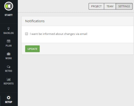 WebEdition - email settings