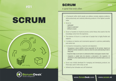 What is Scrum ScrumDesk Scrum cards