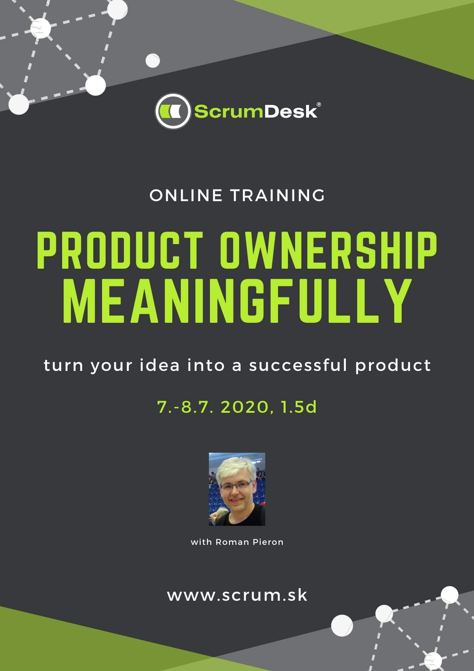 Product Ownership training