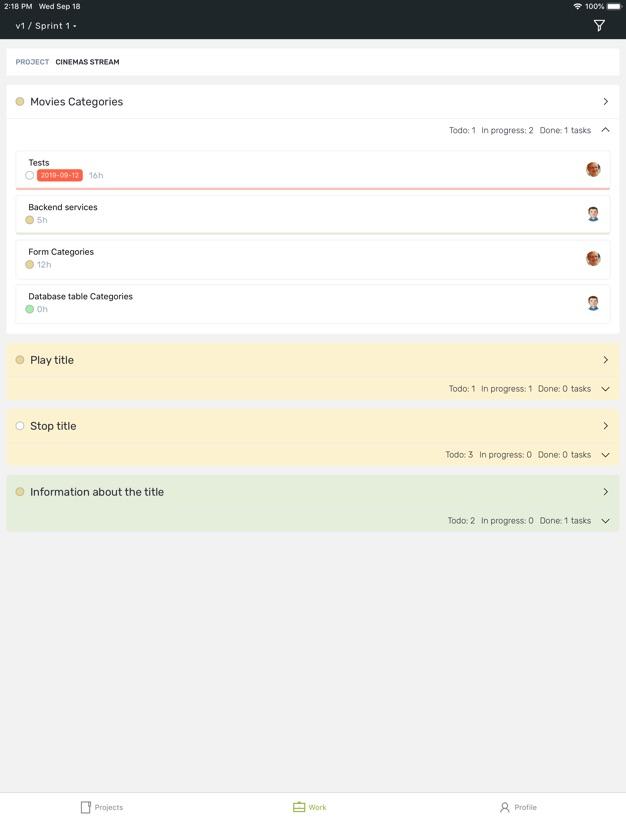 scrumdesk ios ipad iphone backlog items
