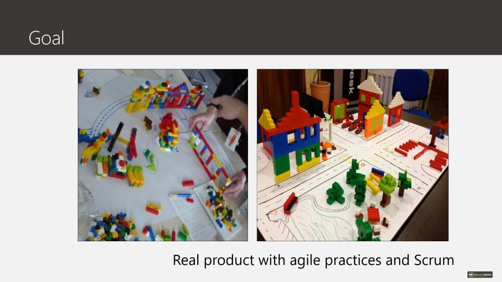 Agile Scrum Training Lego city