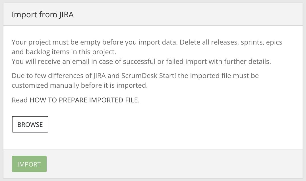 Scrumdesk import from jira