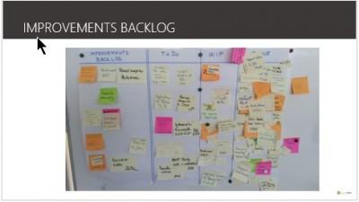 impediments improvements backlog
