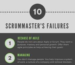 scrumdesk scrum scrummaster failure problem definition agile coaching