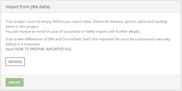 Scrumdesk import from jira