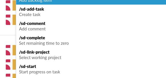 ScrumDesk Slack commands