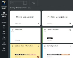 scrumdesk product backlog user stories map safe scrum project management tool