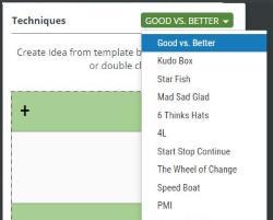 scrumdesk retrospective idea card scrum project management tool scrummaster
